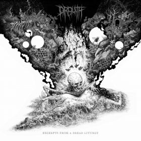 "DROUTH: weiterer Track vom neuen Progressive Black / Death Metal Album ""Excerpts from a Dread Liturgy"""