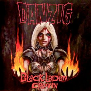 "DANZIG: Cover des neuen Albums ""Black Laden Crown"""