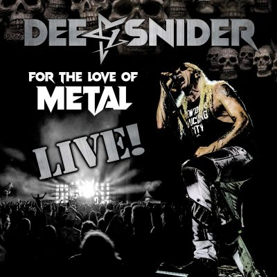 "DEE SNIDER: neue Single und Live-Album ""For The Love Of Metal – Live"""