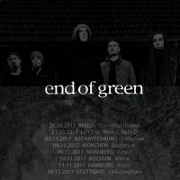 END OF GREEN: Tour 2017
