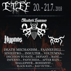 ENTER THE ETERNAL FIRE 2018: Running-Order steht