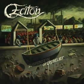 "ECITON: Video-Clip vom dänischen Death Metal Album ""Suspension of Disbelief"""