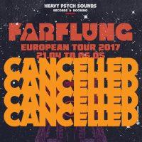 FARFLUNG: Tour abgesagt