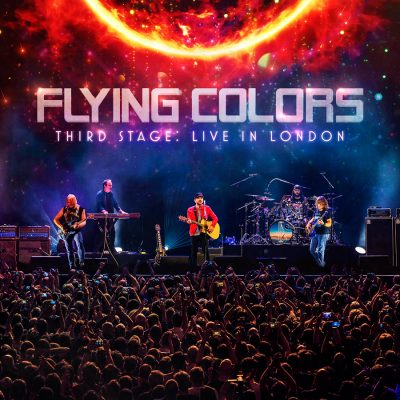 "FLYING COLORS: Livealbum ""Third Stage: Live In London"" kommt am 18. September"