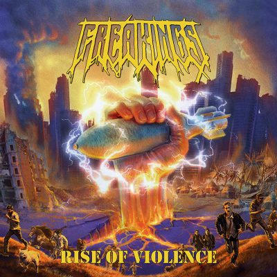 "FREAKINGS: kündigen neues Thrash Metal Album ""Rise Of Violence"" an"