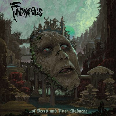 "FUNERALOPOLIS: dritter Track vom neuen Death Metal Album ""…of Deceit and Utter Madness"""