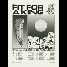 """FIT FOR A KING: Supports der """"Dark Skies""""-Europatour stehen fest"""