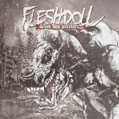 """FLESHDOLL: Track und Details zu """"Blood Red District"""""""
