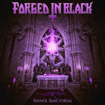 FORGED IN BLACK: Sinner Sanctorum [EP] [Eigenproduktion]