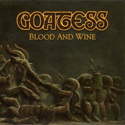 """GOATESS: zweiter Track vom neuen Doom / Desert Rock Album """"Blood and Wine"""""""