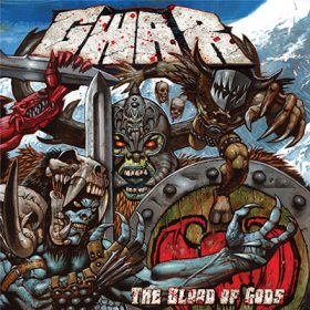 GWAR THE BLOOD OF GODS Cd Cover