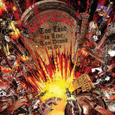 """GEHENNAH: zweiter Song von """"Too Loud to Live, Too Drunk to Die"""" online"""
