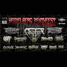 HEIDELBERG DEATH FEST 2018: mit ASPHYX, GUT & DESERTED FEAR