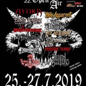 HEADBANGERS OPEN AIR: mehr Bands für 2019