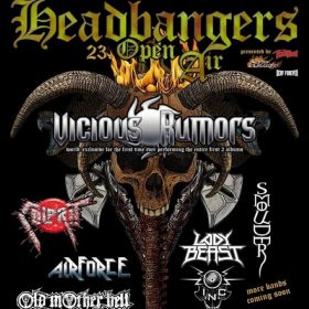 HEADBANGERS OPEN AIR 2020: VICIOUS RUMORS als Headliner