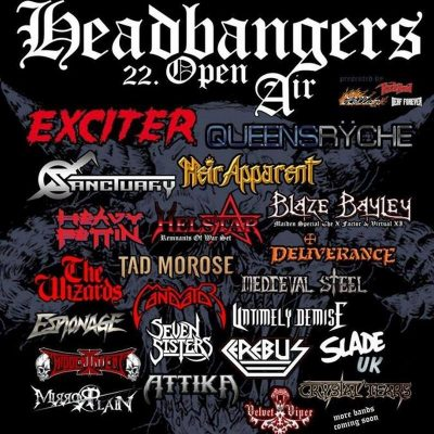 HEADBANGERS OPEN AIR 2019: mit SANCTUARY und MIRRORPLANE