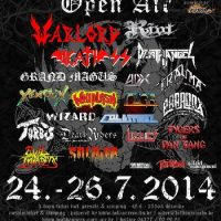 HEADBANGERS OPEN AIR: mit DIAMOND HEAD, HATRIOT und SKULL FIST – Billing komplett