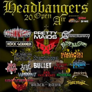 HEADBANGERS OPEN AIR: mit RAVEN und NIGHT DEMON