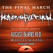 "HEAVEN SHALL BURN ""The Final March Tour 2018"""