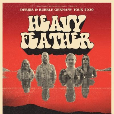 HEAVY FEATHER: Tour im Februar