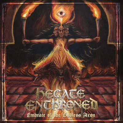 """HECATE ENTHRONED: Neues Album """"Embrace of the Godless Aeon"""""""