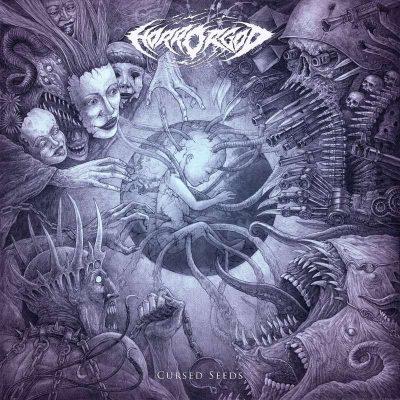 "HORROR GOD: Lyric-Video vom Death Metal Album ""Cursed Seeds"""