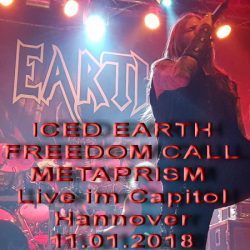 ICED EARTH, FREEDOM CALL, METAPRISM: Live im Capitol Hannover 11.01.2018