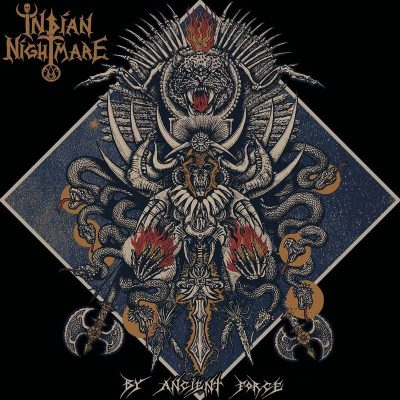 "INDIAN NIGHTMARE: Track vom Tribal Metal Punk-Album ""By Ancient Force"""