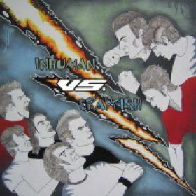 INHUMAN / CRAYFISH: Inhuman vs. Crayfish (Split-EP) (Eigenproduktion)