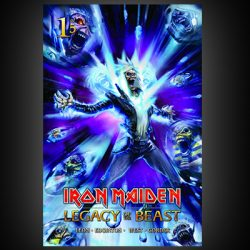 IRON MAIDEN Legacy Of The Beast Comic