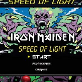 "IRON MAIDEN: Game zu ""Speed Of Light"" online"