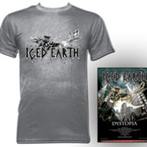 ICED EARTH: T-Shirt und ´Dytopia´-Poster zu gewinnen
