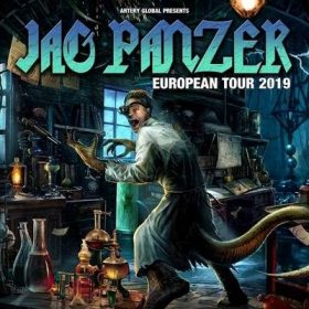 JAG PANZER: im Mai und Juni 2019 aus Europa-Tournee