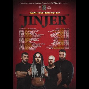 JINJER: Against The Stream-Tour 2017
