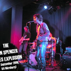 THE JON SPENCER BLUES EXPLOSION, 1. September 2008 in Nürnberg im K4
