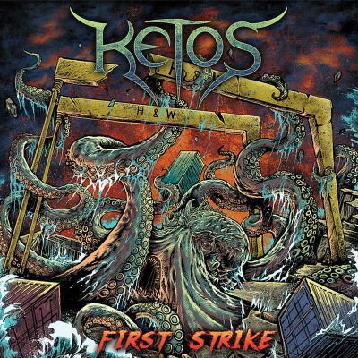 "KETOS : debütieren mit ""First Strike"" Album"