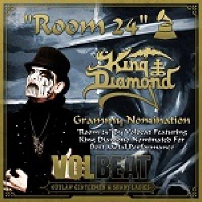 KING DIAMOND & VOLBEAT: Grammy-Nomminierung für ´Room 24´