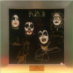 KISS: Charity-Auktion mit signiertem Album & Bild