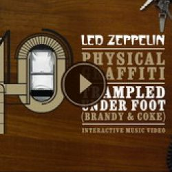 "LED ZEPPELIN: Interaktives Video zu ""Trampled Under Foot"""