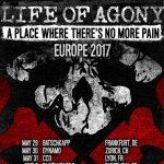 LIFE OF AGONY: Tour 2017