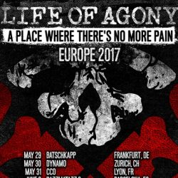 LIFE OF AGONY: Tour 2017