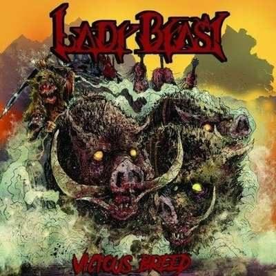 "LADY BEAST: streamen ""Vicious Breed""-Album"