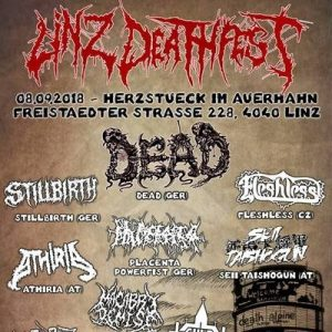 LINZ DEATHFEST 2018: Line-Up vom Brutal Death / Grind Festival