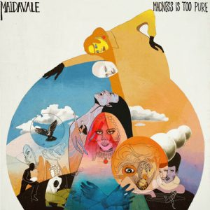 "MAIDAVALE: kündigen Album ""Madness Is Too Pure"" an"