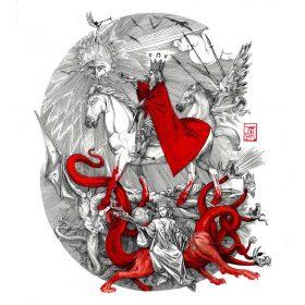 "MEPHORASH: Esoterisches Black Metal Album ""Shem Ha Mephorash"""