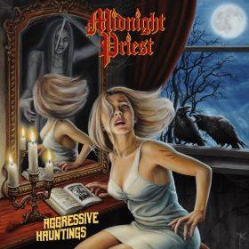 "MIDNIGHT PRIEST: enthüllen Cover-Artwork vom ""Aggressive Hauntings"" Album"