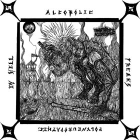 """MISANTHROPIC AGGRESSION: neue Blackened Death / Thrash Single """"Alcoholic Polyneuropathic Freaks in Hell"""""""