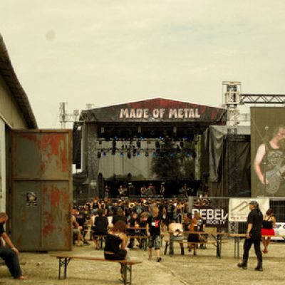 MADE OF METAL 2015, Hodonin (CZ), 14. – 16.08.2015