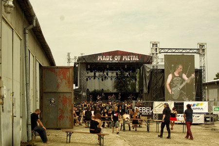 MADE OF METAL 2015, Hodonin (CZ), 14. – 16.08.2015