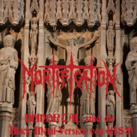 MORTIFICATION: IMMORTAL sind die Black Metal-Version von KISS!